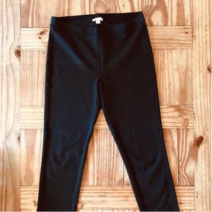 NWOT Garnet Hill Stretch Slim Pants/Leggings